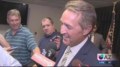 Jeff Flake anunció que no busca reelección