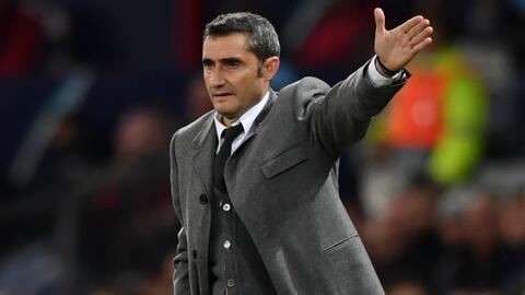 """Valverde, cauteloso a pesar del 0-1 en Old Trafford: """"Es un resultado corto que no dice nada"""""""