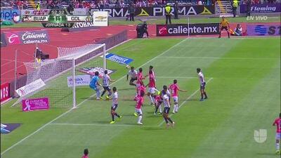 ¡Finalmente llegó el gol! Hedgardo Marín pone la igualada para Chivas