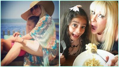 Así de grande está Camila, la hija de Yuri