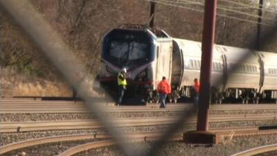 Tren de Amtrak descarrila cerca de Philaldelphia