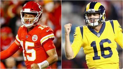 El Chiefs vs. Rams se une a un selecto grupo de partidos entre equipos casi imbatibles