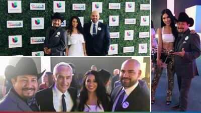 Se vistieron de gala: El Bueno, La Mala y El Feo en el Upfront de Univision