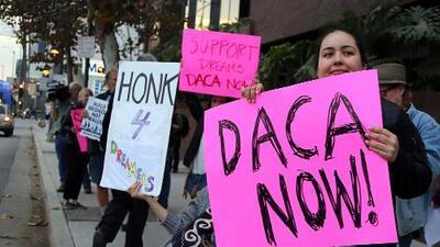 """El Departamento de Justicia apelará """"inmediatamente"""" el """"injusto"""" bloqueo de la cancelación de DACA"""
