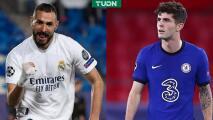 Pulisic es titular con Chelsea y Zidane manda línea de 5 en Real Madrid