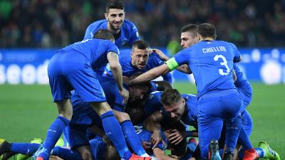 En fotos: Italia comenzó con el pie derecho su rumbo a la Eurocopa al superar a Finlandia