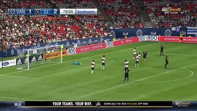 Magnus Eriksson emula el zurdazo de su compatriota Zlatan y anota el tercero de San Jose