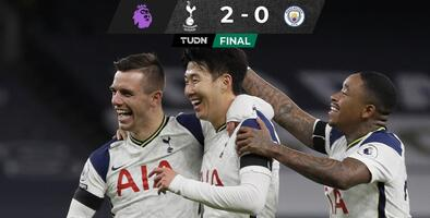 ¡Travesura de Mou! Tottenham arrebató triunfo a Manchester City