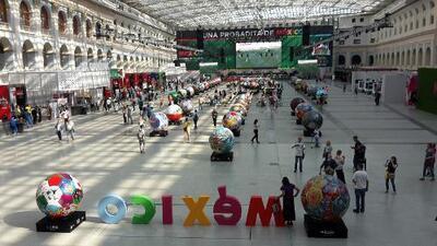 Inauguraron en Moscú una 'probadita' de México
