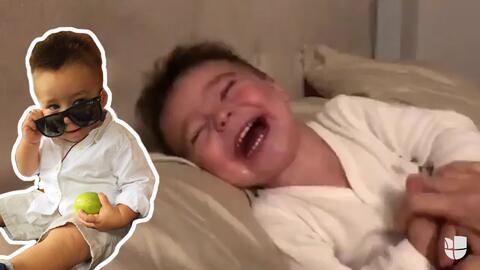 Las carcajadas del bebé de Ariadne Díaz que te contagiarán de risa