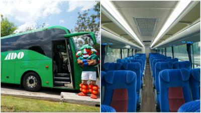 Así luce el autobús que transporta a la Selección Mexicana de Fútbol