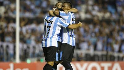 Racing golea sin problemas al Bolívar en la Copa Libertadores