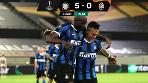 ¡Un par de toros embisten al Shakhtar! Inter, finalista de la Europa League