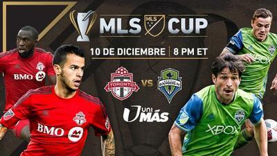 Toronto FC vs. Seattle Sounders, una final de estrellas y de grandes aficiones que dará un nuevo campeón en MLS
