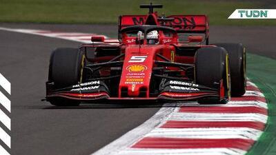 Vettel y Hamilton dominan las prácticas en México