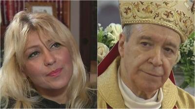 Con fotos, cartas y pruebas médicas, una mujer asegura que tuvo un romance con un cardenal dominicano