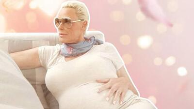 Brigitte Nielsen, exesposa de Sylvester Stallone, da a luz a los 54 años