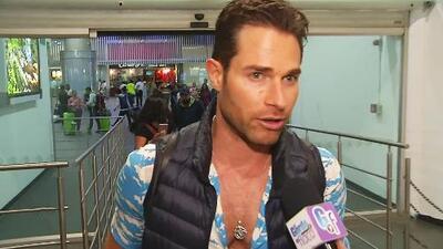 Así Sebastián Rulli remedió el error de llevarse la maleta de otro pasajero y perder la suya en un aeropuerto