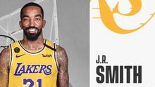 J.R. Smith se vuelve a unir con LeBron James, ahora en los Lakers
