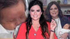 Emocionada, Mariana Echeverría presenta por primera vez en televisión a su hijo Lucca