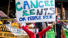 """""""Cada mes es un trauma"""": millones de inquilinos en EEUU viven con el temor de ser desalojados por crisis del coronavirus"""