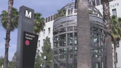 Lanzan campaña contra el abuso y el acoso dentro de las estaciones del metro de Los Ángeles