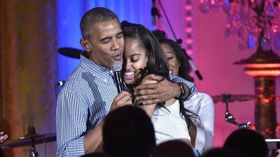 Obama aprovecha el 4 de julio para cantar el Happy Birthday a Malia
