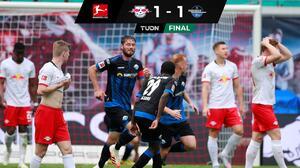 ¡Agónico y sufrido empate! Paderborn respira y Leipzig se rezaga
