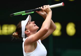 La felicidad de Simona Halep por la clasificación a su primera Final de un Wimbledon
