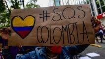 Estudiante en Colombia se encuentra en coma tras recibir ocho disparos durante una protesta