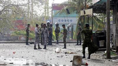 Al menos 24 personas han sido arrestadas en conexión con las explosiones en Sri Lanka