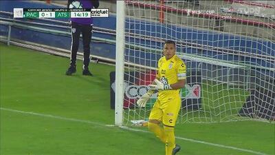 ¡La sacó del ángulo! Ahora sí, Alfonso Blanco le roba el gol al Atlas