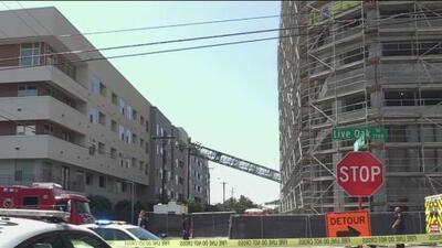 Empresa encargada de la grúa que colapsó en Dallas ha tenido accidentes similares