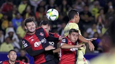 En fotos: América y Atlas empataron ante una multitud en la pausa de la Liga MX