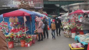 Así van las ventas navideñas en Nueva York en medio de la pandemia