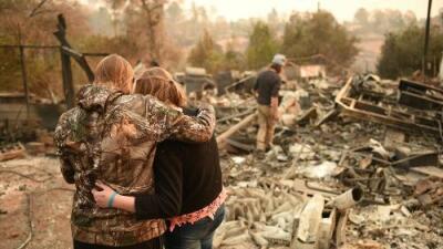 El Camp Fire en California fue la catástrofe natural más costosa del planeta en 2018 (por encima de los huracanes)