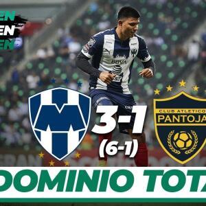 Rayados vence 3-1 al Atlético Pantoja y avanza a cuartos de final