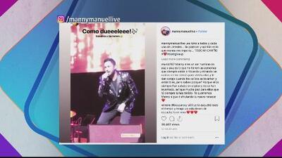 #TeCuento: Manny Manuel envía mensaje a sus 'haters'