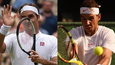 Federer y Nadal se instalaron en cuartos de final de Wimbledon