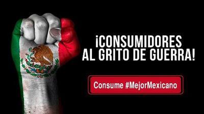 'Consumidores al Grito de Guerra', la campaña que invita a los mexicanos a boicotear la compra de productos de EEUU