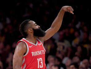 James Harden impone una marca histórica de la NBA que le arrebató a Kobe Bryant