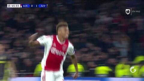 ¡GOOOL! David Neres anota para Ajax