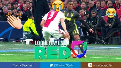 Es la Champions League: espectacular elástica de Douglas Costa con caño incluido