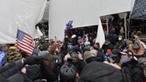 Simpatizante de Trump exculpa al presidente de lo ocurrido en el Capitolio y responsabiliza a grupos antifa