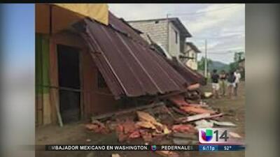 Caos y devastación dejó a su paso el terremoto en Ecuador