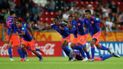 En fotos: Colombia se sobrepone y elimina a Nueva Zelanda del Mundial Sub-20 por penales
