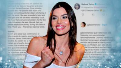 Lágrimas de tristeza: la muerte de Gretchen Serrao conmociona al mundo de Nuestra Belleza Latina