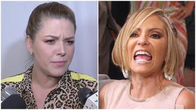 """""""Caras vemos, mañas no sabemos"""": Alicia Machado se despacha contra Daniela Castro frente a cámaras"""