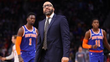 Los Knicks despiden al entrenador David Fizdale