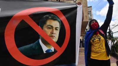 Violentas protestas en Honduras tras las acusaciones contra el presidente Hernández sobre presunto vínculo con dinero del narcotráfico